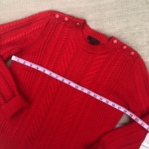 J. Crew Sweaters - J. CREW wool cable knit sweater S